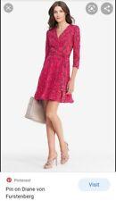 DVF Irina Silk chiffon wrap Dress
