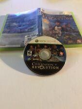 Sid Meier's Civilization Revolution Microsoft Xbox 360, 2008 Free Ship