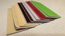 "CUSTOM COLOR PAPER MICARTA KNIFE HANDLE SCALE BLANKS 1/8"" (.125) thick"
