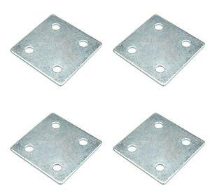Square Furniture Mending Fixing Plates Brackets Brace Furniture Repair Fixing