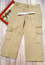 Gap Cargo Capri Women's Beige Khaki Beige Pants Size 8 Cropped pants