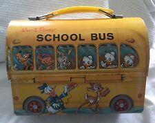 Vintage '60's Walt Disney School Bus Lunchbox
