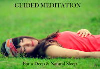 Guided Meditation CD for Deep & Natural Sleep - CD4
