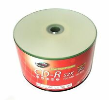 1000 pcs SKYTOR Blank CD-R CDR 52x 700MB Silver Inkjet Hub Printable Media Disc