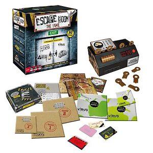 Juego de mesa Escape Room Original. Edición Española. +16 años. 3-5 Jugadores