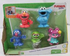 Playskool Sesame Street Collector Pack 5 Figures New In Box