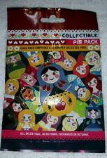 Disney Pin NESTING DOLLS Mystery Pack Random SEALED Set of 5