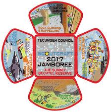 2017 National Scout Jamboree Tecumseh Council Mine Craft 5 pc Set JSP [NJ1068]