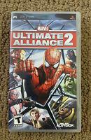 Marvel: Ultimate Alliance 2 (Sony Playstation PSP, 2009) COMPLETE