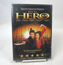 New Jet Li in Hero (Dvd, 2002) Quentin Tarantino Sealed