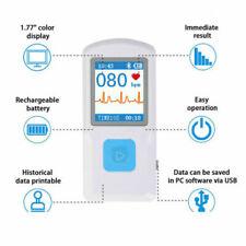 Pm10 Handheld Portable Ecg Machine Heart Beat Ekg Monitor Usb Bluetooth Recorder