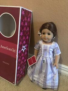 American Girl Doll Felicity with Box Adult Owned Displayed Only