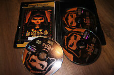 Diablo 2 II pc mac game disc 3x cd-rom complete deutsch edition 2002