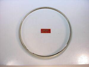 Headlamp Rims Fits MG Midget 1500 1980 NOS Lucas   54521223