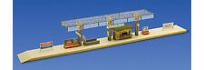 FALLER Covered Platform w/ Kiosk Model Kit III HO Gauge 120188