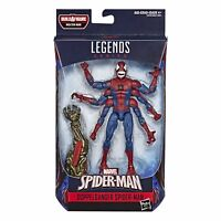 Spider-Man Marvel Legends Series Demogoblin Spider-Man (Molten Man BAF)