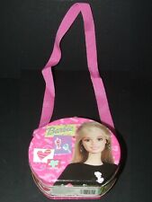 Collectible BARBIE Doll Fashion EMBOSSED Tin Metal LUNCHBOX Girls Mini PURSE