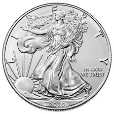 USA - 1 Dollar 2020 - Silver Eagle - Anlagemünze - 1 Oz Silber ST