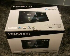 "Kenwood DMX125BT Digital Muiltimedia Receiver Stereo w/ 6.8"" screen IPhone Apple"