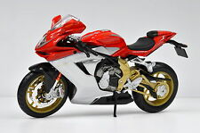 Mv Agusta F3 Serie Oro 2012 Rojo 1:18 Modelo de Motocicleta de Bburago