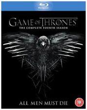 Game of Thrones Complete Fourth Season Series 4 Valar Morghulis BLURAY VG B7