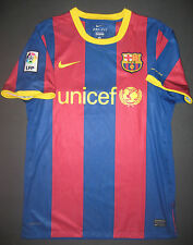 Authentic 2010/2011 Nike FC Barcelona FCB Home Jersey Shirt Kit Player Issue M