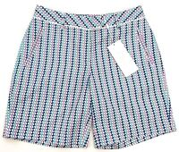 $55 LADY HAGEN Women's Sizes 0 2 6 16 Ocean Club Basketweave Golf Walking Shorts