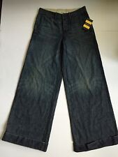 NWT Ralph Lauren Rugby Wide Leg Jeans Size 25 Retail $168