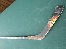 "Vintage Wooden 55"" Long Hockey Stick Easton E-Flex"