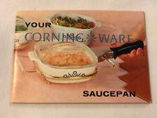 Vtg Corning Ware CORNFLOWER Advertising Booklet w/ Recipes & Product Info