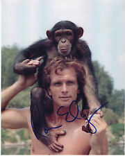 RON ELY hand signed 8x10 photo photograph autographed  Tarzan
