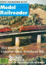 1978 Model Railroader Magazine: Jim Hediger's Colorful Ohio Southern RR/Ore Car