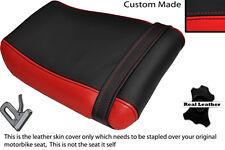 BLACK & RED CUSTOM FITS KAWASAKI ZXR 250 A 88-91 REAR SEAT COVER