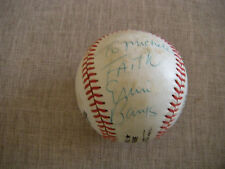 "Ernie Banks "" Mr Cub""  Autographed Baseball"