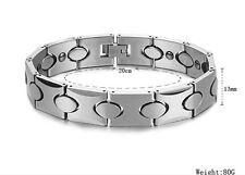 on sale Pure Tungsten steel Bracelet for women Men's magnetic Bangle Bling