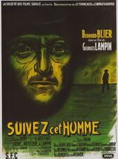 Suivez cet homme Bernard Blier movie poster print