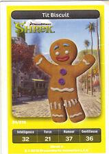 Carte Carrefour Dreamworks n° 24/216 - TIT BISCUIT - Shrek