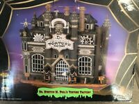 Lemax Spooky Town Dr. Stretch N Pull's Torture Factory #45001 Retired Works 2004