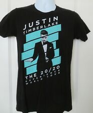 Justin Timberlake 20/20 Experience World Tour Concert T-Shirt Black Size Small