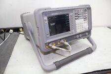 Agilent HP E4411A ESA-L1500A Spectrum Analyzer w/ Tracking Generator Calibrated!