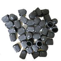 50 x Hot Auto Car Truck Wheels Tire Valve Air Dust Cover Stem Cap Black Plastic