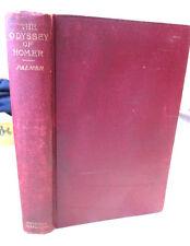 THE ODYSSEY,1891,George Herbert Palmer