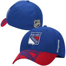 New York Rangers NHL Eishockey Reebok Center Ice Flexfit Cap / Kappe Size S / M