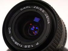 Carl Zeiss Jena P 1:2.8 f=28mm MC Praktica B mount lens. Rare