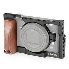 SmallRig Cage Kit for Sony RX100 VI with Wooden Grip 2225