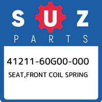 41211-60G00-000 Suzuki Seat,front coil spring 4121160G00000, New Genuine OEM Par