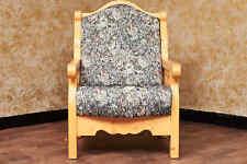 Voglauer Anno 1800 Natural ANTIGUO BUTACA Silla estilo rústico MACIZO Tapicería