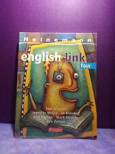 Heinemann English Links Four - Textbook & CD - NEW SEALED - Toni Glasson