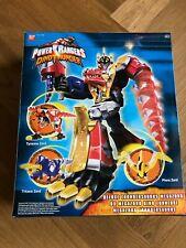 Power Rangers Dino Thunder DX Thundersaurus Megazord Tonnerre RARE NEW