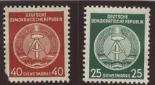 Ddr East Germany 2 0fficial Stamps Scott O23 & O25 Mnh scarce unused